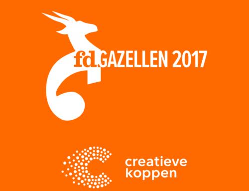 Yes, ook in 2017 zijn we weer een Gazelle!